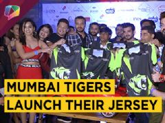 Arjun, Kishwer, Suyyash And More At The Mumbai Tigers Jersey Launch | Box Cricket League 201