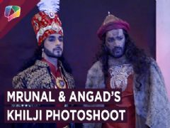 Mrunal Jain And Angad's Pose Like Khilji From Padmaavat | Photoshoot