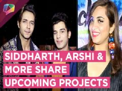 Siddharth Gupta, Arshi Khan, Akash, Vikas Share About Their Upcoming Projects | Exclusive