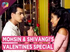 Mohsin Khan And Shivangi Joshi Have A Fun Valentines Celebration With India Forums