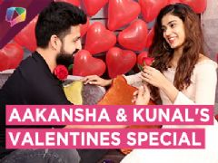 Aakanksha Singh And Kunal Sain's Valentines Celebration With India Forums | Exclusive