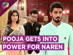 Pooja Gets Into Power To Help Naren | Piya Albela | Zee tv