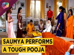 Saumya Performs Firm Rituals To Make Harman Feel Better | Shakti | Colors Tv