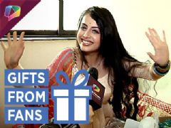 Shrenu Parikh Aka Gauri Receives Gifts From Her Fans | Exclusive | Gift Segment