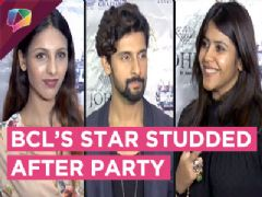 Ekta Kapoor, Ravi Dubey And Many More Have A Star Studded After Party | BCL 2018