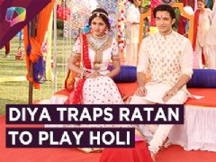 Diya Plans To Trap Ratan And Play Holi With Him | Rishta Likhengey Hum Naya | Sony Tv