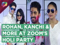 Rohan Mehra, Kanchi Singh & More At Zoom's Holi Bash 2018