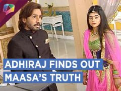 Adhiraj Finds Out Maasa's Truth Asks Him To Get Out | Jeet Gayi Toh Piya Morey | Zee tv