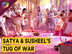 Satya Cheats With Susheel To Win The Tug Of War Challenge | Ikyawann | Star Plus