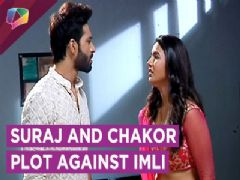 Suraj and Chakor break into the Haveli to save Gauri from an illegal marriage