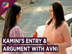 Kamini Takes A New Entry In Naamkaran and Has An Argument With Avni | Star Plus