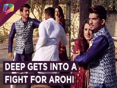 Deep Gets Into A Fight For Arohi | Ishq Main Marjawan | Colors Tv