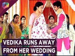 Vedika Runs Away From Her Wedding With Sahil | Drama | Aapke Aa Jaane Se | Zee Tv