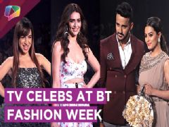 Anita Hassanandani, Rohit Reddy, Benafsha, Karishma & More At BT Fashion Week