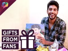 Vikram Singh Chauhan Receives Gifts From His Fans