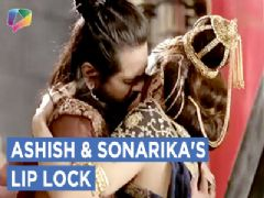 Ashish And Sonarika's Lip Lock|Prithvi Vallabh|Exclusive