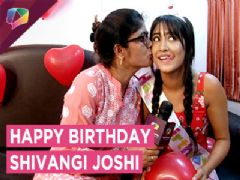 Shivangi Celebrates Her Birthday With Her Mother