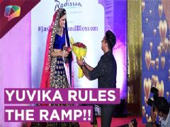 Yuvika Chaudhary Nails It On The Ramp