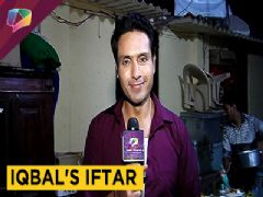 Iqbal Khan' Iftaari With India Forums|Exclusive