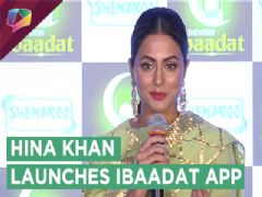 Hina Khan Launches Ibaadat App