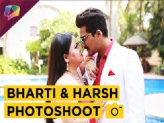 Bharti And Harsh Shoot For Magazine