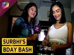 The Newest Naagin Surbhi Jyoti celebrates her birthday