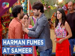Harman Hits Sameer Till He Drops | Shakti | Colors tv