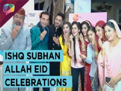Eid Celebrations On The Sets Of Ishq Subhan Allah | Adnan, Eisha & Many more | Zee tv