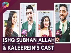 Ishq Subhan Allah And Kaleerein's Cast Have A Chat With India Forums | Zee tv