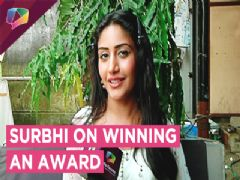 Surbhi Chandna Shares About Winning At The Zee Gold Awards