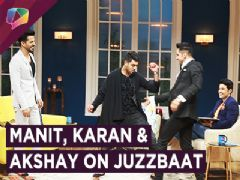 Manit Joura, Karan Vohra And Akshay Mhatre On Juzzbaat | Zee tv