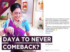 Disha Vakani Aka Daya Confirms Not Coming Back? | Tarak Mehta Ka Ooltah Chashmah