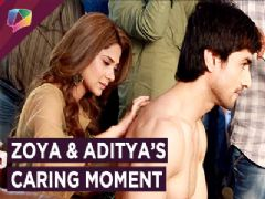 Zoya And Aditya Share A Caring Moment | Aditya Gets An Electric Shock | Bepannah | Colors tv