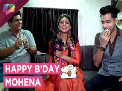 Mohena Singh Celebrates Her Birthday With Her Co-Stars From Yeh Rishta | Exclusive