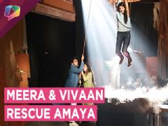 Meera And Vivaan Rescue Amaya | Kaleerein | Zee tv