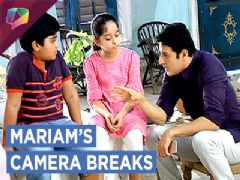 Mariam's Camera Breaks And She Is Upset | Mariam Khan Reporting Live