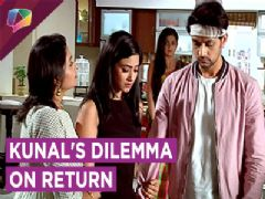 Kunal returns after his accident but is worried about Nandini