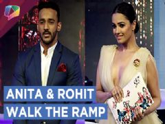 Anita Hassanandani And Rohit Reddy Walked The Ramp & Shared Their Experience