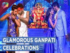 Ravi Dubey, Karan Tacker, Abhi-Pragya & More At Zee tv's Ganpati Celebrations