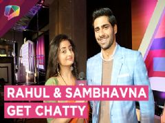 Zee tv Launches Raja Beta | Exclusive Interview With Rahul & Sambhavna