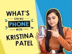 What's On My Phone With Kristina Patel Aka Swati | Yeh Unn Dino Ki Baat Hai