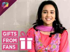Ashi Singh Aka Naina Receives Gifts From Her Fans | Exclusive
