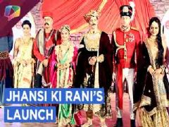 Anushka Sen Starrer Jhansi Ki Rani's Launch | Exclusive Interview