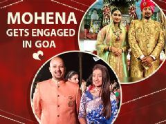Mohena Singh Aka Keerti Gets Engaged In The City Of Goa | Yeh Rishta Kya Kehlata Hai