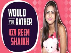 Reem Shaikh Plays Would You Rather With India Forums