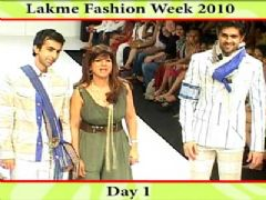 Lakme Fashion Week 2010 - Day 1 (Part 1)