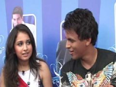 Abhijeet Sawant and Prajakta Shukre Indian Idol 5 New Host