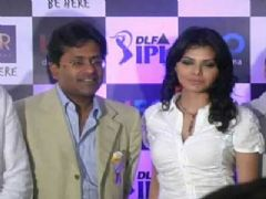 Celina Jaitley and Sherlyn Chopra promote IPL 2010