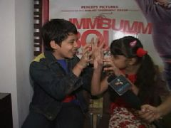 Darsheel Safary and Ziyah Vastani - Exclusive Interview - Bumm Bumm Bole