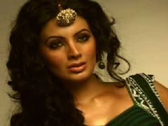 Geeta Basra Shoots For Hyderabad Bridal Show